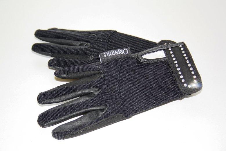 kinderhandschoen met steentjes